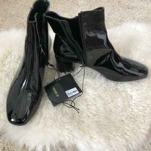 Forever 21 patent booties